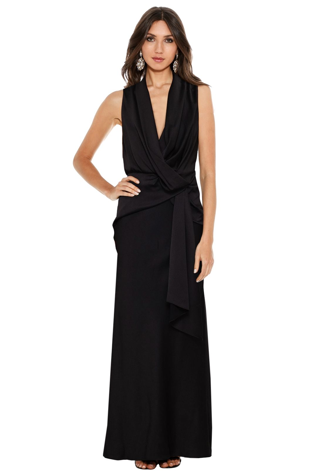Camilla and Marc - Dahlia Dress - Black - Front