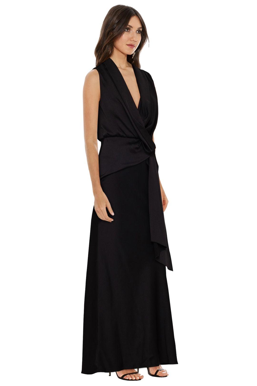 Camilla and Marc - Dahlia Dress - Black - Side