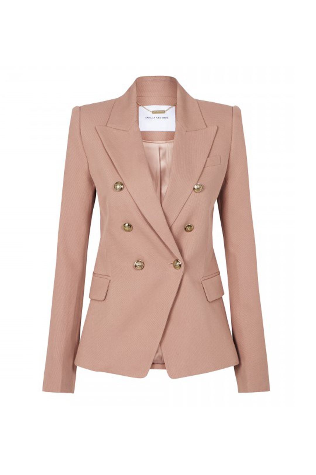 Camilla and Marc - Dimmer Blazer - Blush - Front