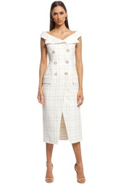 Camilla and Marc - Dumas Dress - Ivory - Front