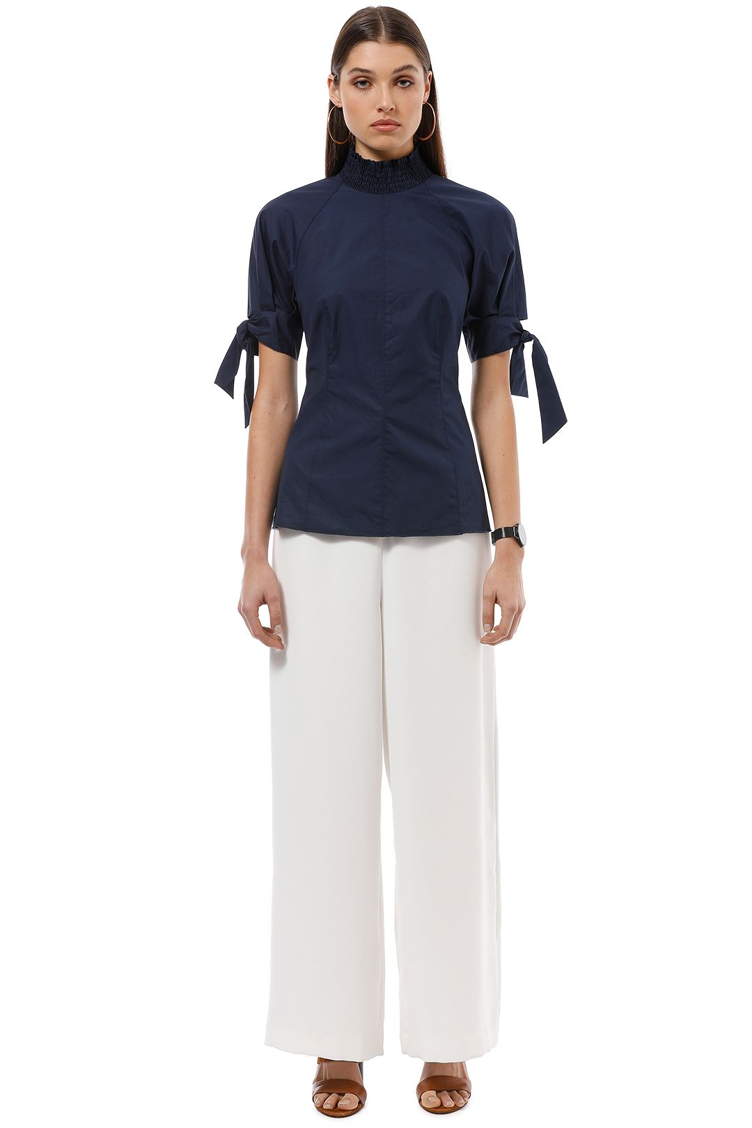 Camilla and Marc - Giralda Top - Blue - Front