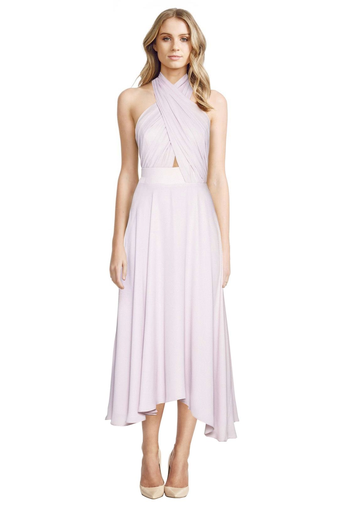 Camilla and Marc - Golden Myna Dress - Pink - Front