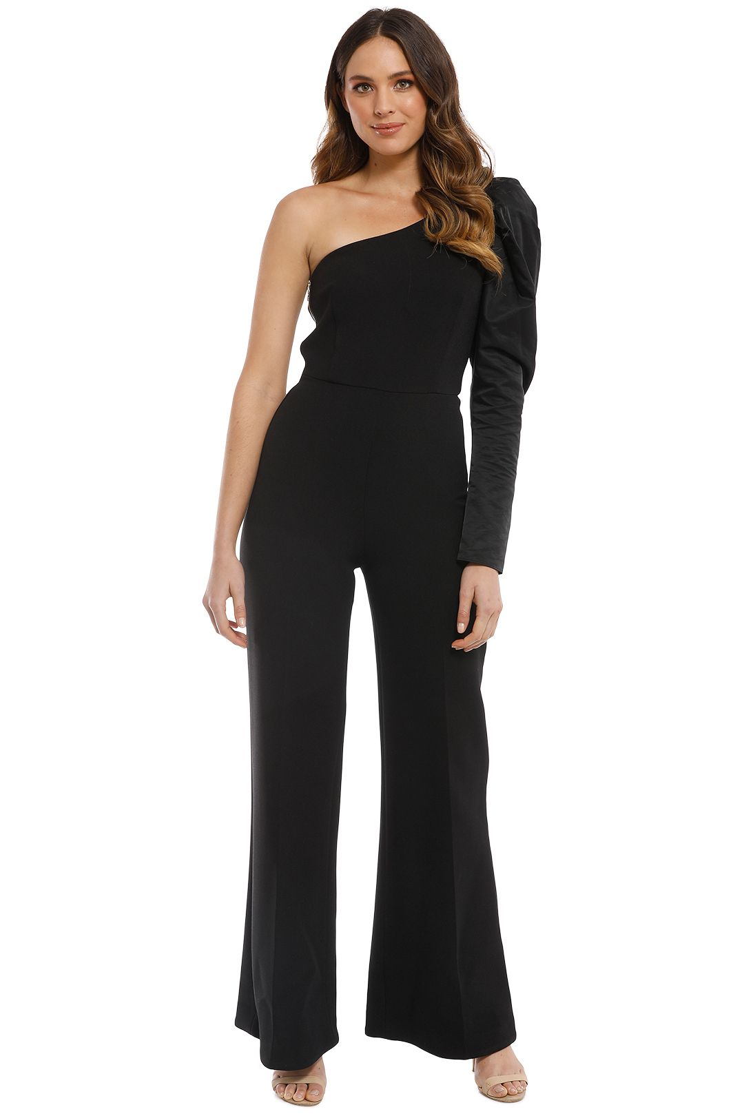 Camilla and Marc - Hawkins Jumpsuit - Black - Front