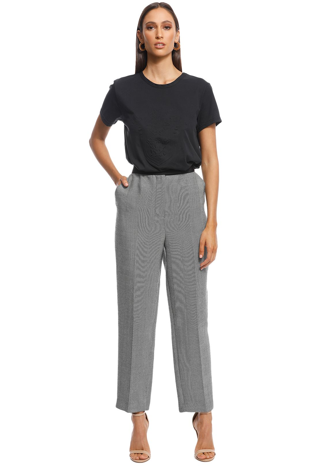 Camilla and Marc - Hayworth Trouser - Grey - Front