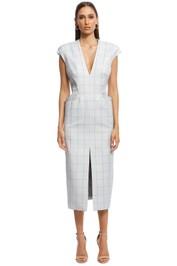 Camilla and Marc - Sappho Midi Dress - Grey - Front