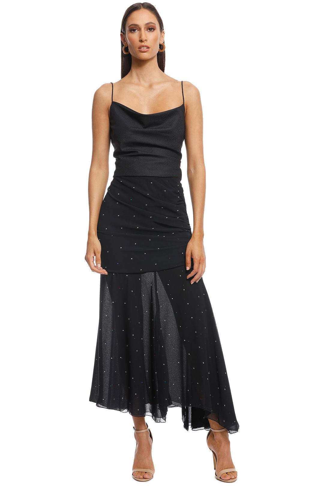 Camilla and Marc - Scarlett Skirt - Black - Front