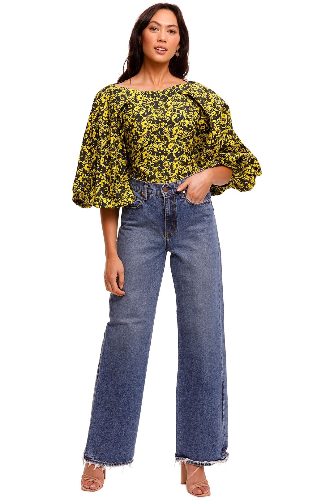 Camilla and Marc Monet Top