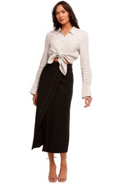 Camilla and Marc Onyx Skirt charcoal