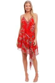 Camilla Asymmetrical Flared Dress