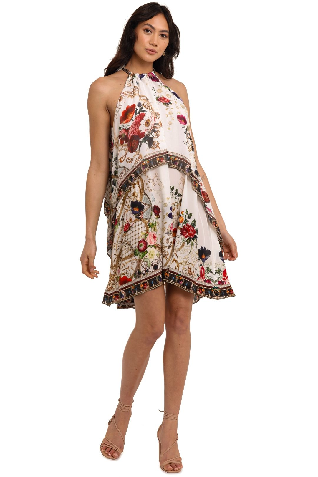 Camilla Double Layer Short Dress Fairy Godmother