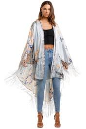 Camilla Draped High Low Kimono Fraser Fantasia
