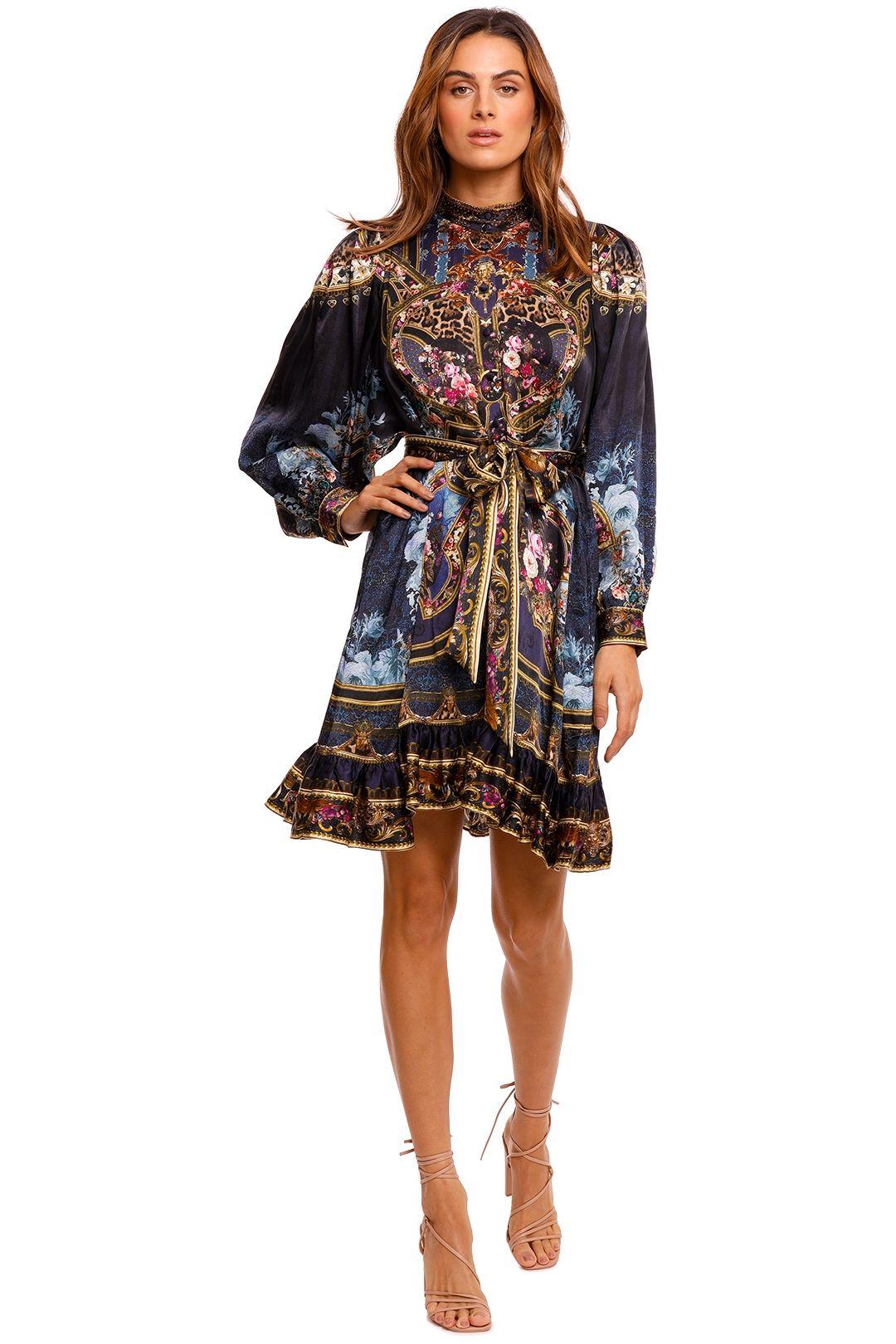 Camilla Drop Sleeve Shirt Dress Floral