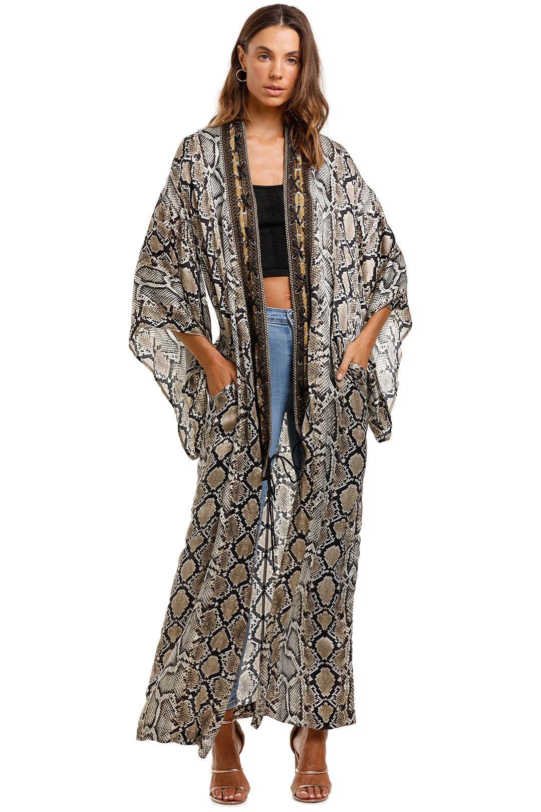 Camilla Kimono Coat Kakadu Boo Boho Maxi Cape
