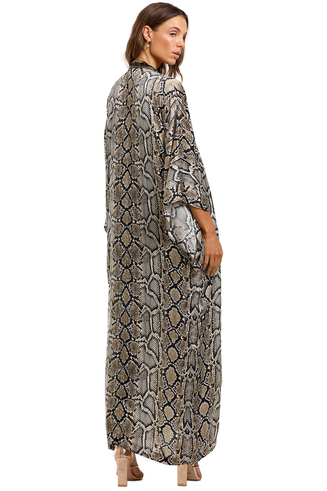 Camilla Kimono Coat Kakadu Boo