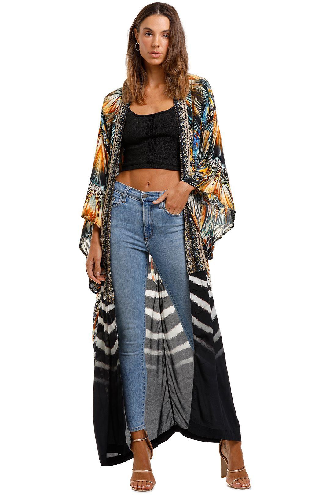 Camilla Kimono Coat Lost Paradise