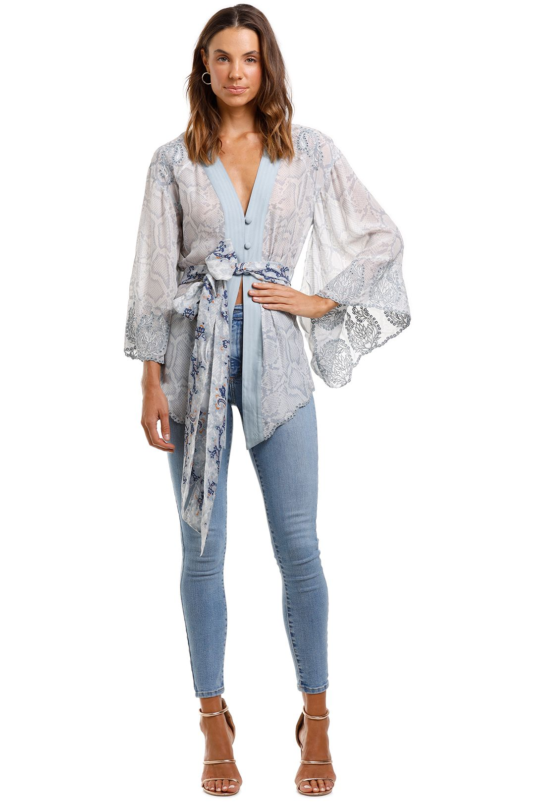 Camilla Kimono With Shoulder Inserts Boho