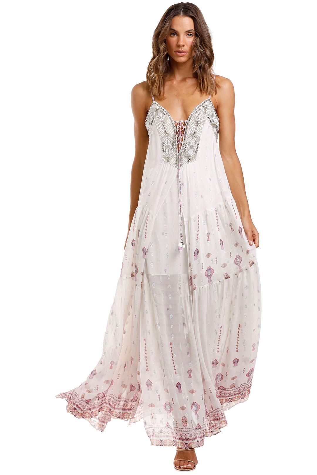 Camilla Lace Up Front Dress Tanami Road