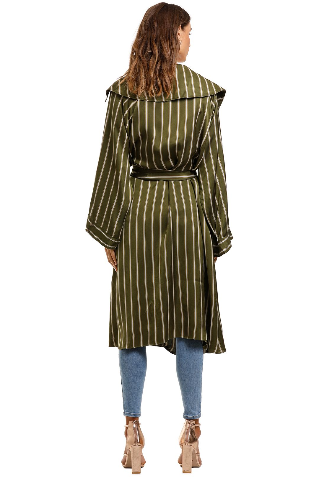 Camilla Loose Longline Trench Among The Gumtrees