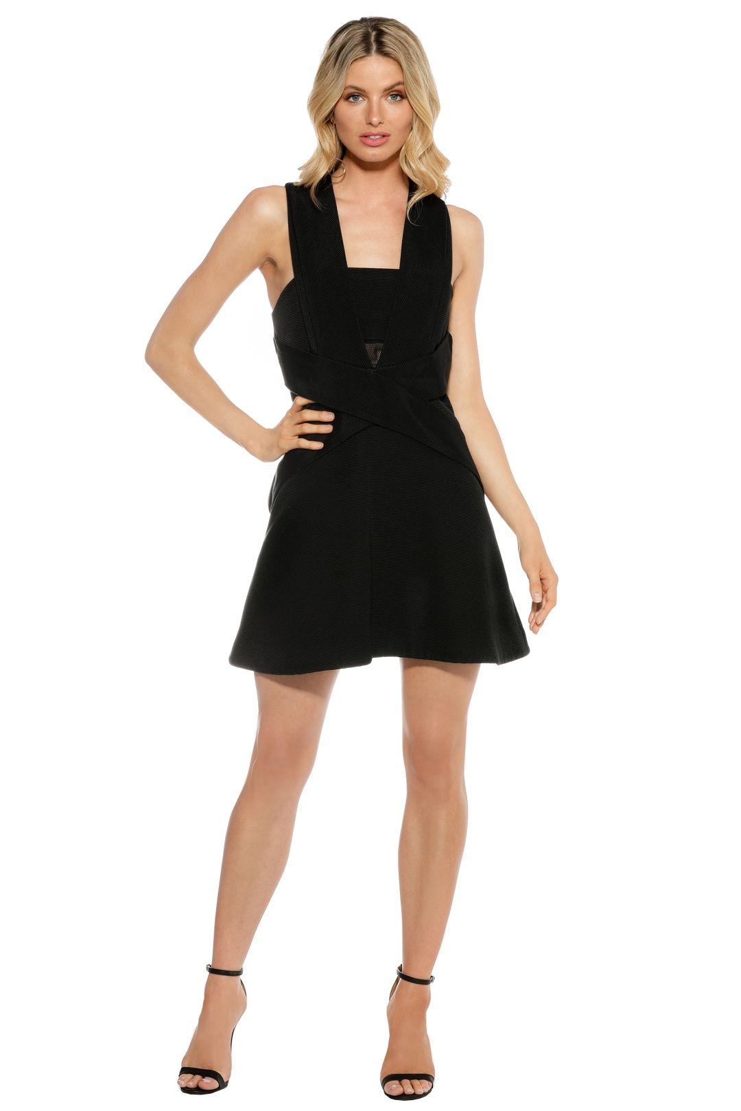 Camilla & Marc - Responsive Dress - Black - Front