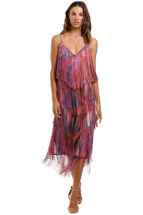Camilla - Midi Fringe Dress