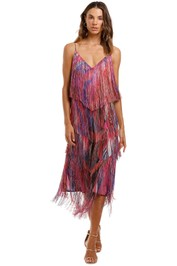 Camilla Midi Fringe Dress