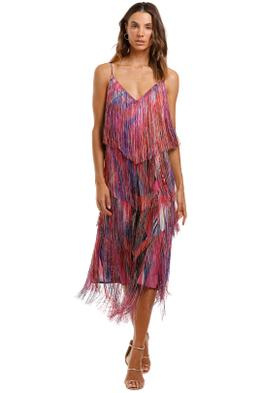 Camilla Midi Fringe Dress