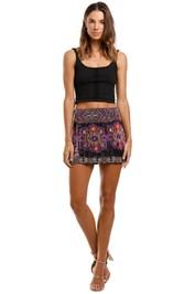 Camilla Mini Skirt beaded