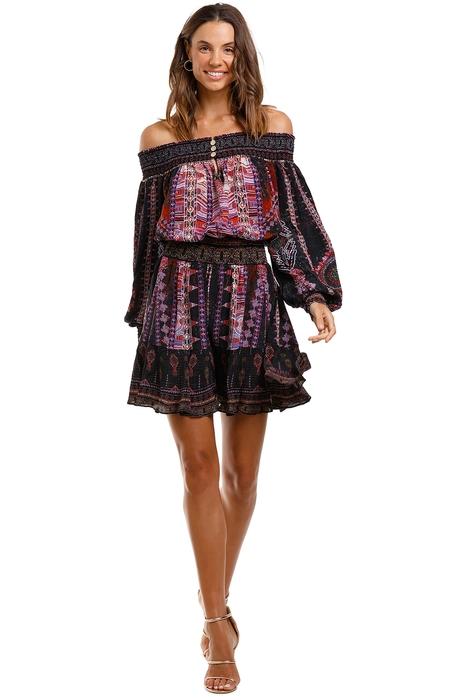 Camilla - Off Shoulder Short Dress