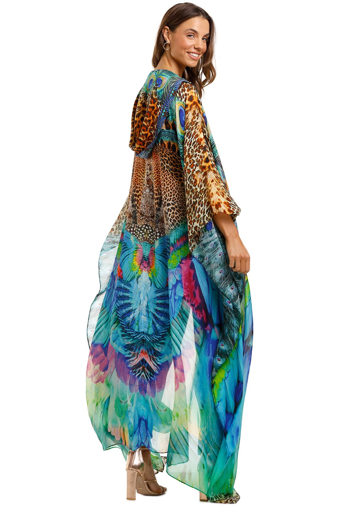 Camilla Oversized Robe Mother Xanadu Boho Outerwear