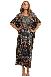 Camilla Round Neck Kaftan Dancing In The Dark