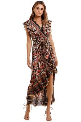 Camilla Ruffle Wrap Dress Liv A Little