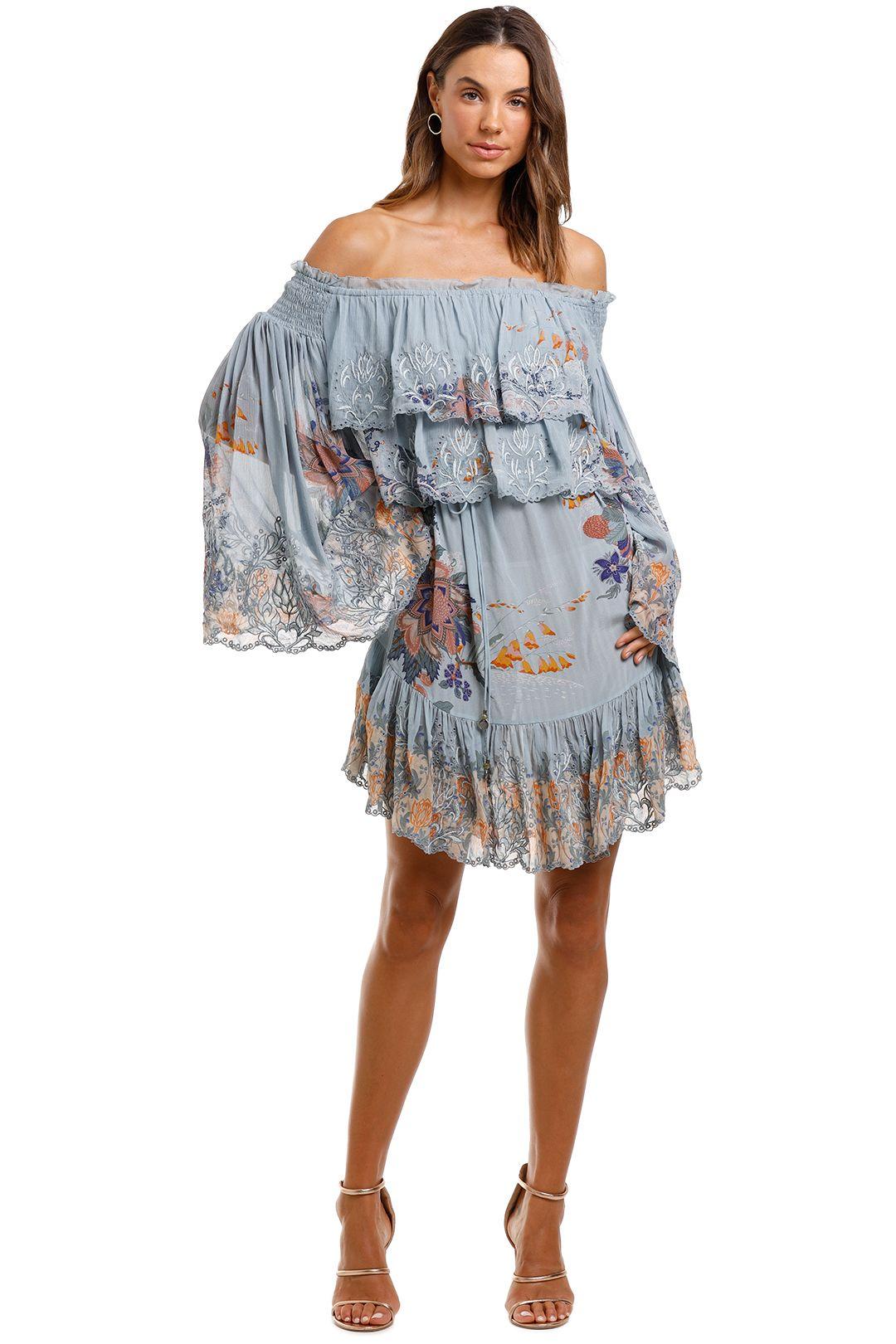 Camilla Tiered Ruffle Dress