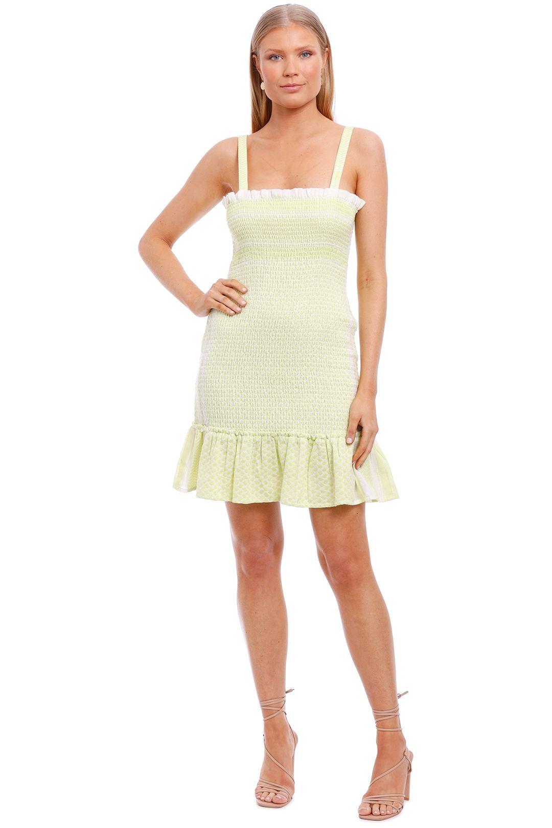 Cecilie Copenhagen Judith Sleeveless Mini Dress ruffle