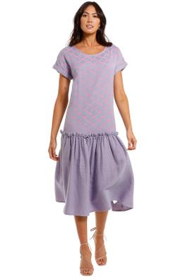 Cecilie Copenhagen Signe Dress Lilac midi