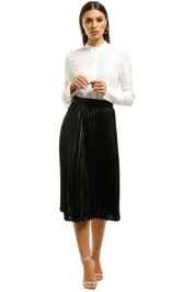 Charlie-Holiday-Juniper-Pleated-Skirt-Front