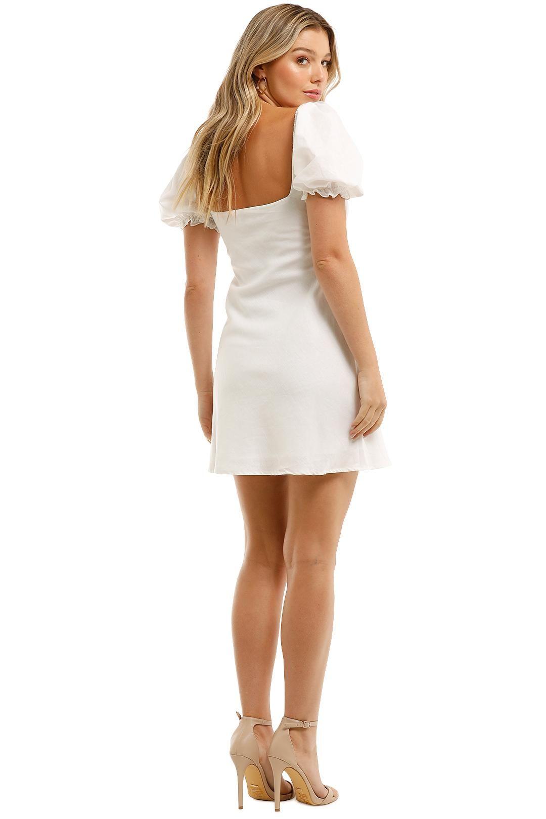 Charlie Holiday Lottie Mini Dress Shirred