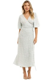 Charlie Holiday Presley Wrap Dress Bloom