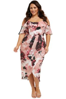 City-Chic-Lost-In-Love-Dress-Blush-Front