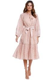 CleobellaKala Midi Dress Pink