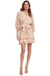 CleobellaMagdalena Mini Dress Greece Print