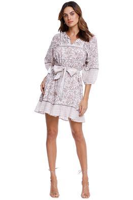 CleobellaMagdalena Mini Dress Tropical Print