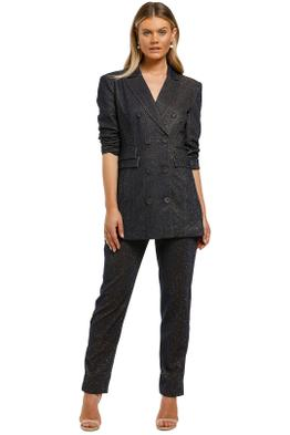 CMEO-Collective-By-Night-Blazer-and-Pant-Set-Navy-Metallic-Front