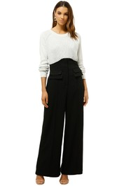CMEO-Collective-Collisions-Pant-Black-Front