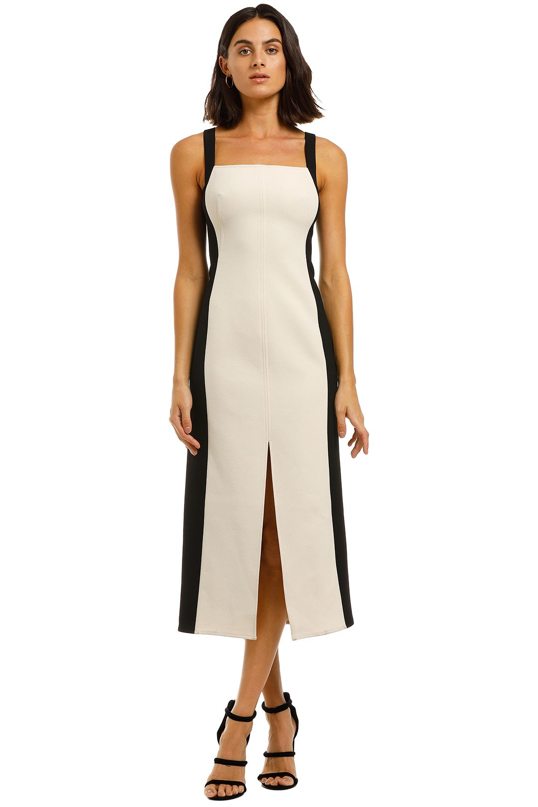 CMEO-Collective-Consumed-Sleeveless-Midi-Dress-Front
