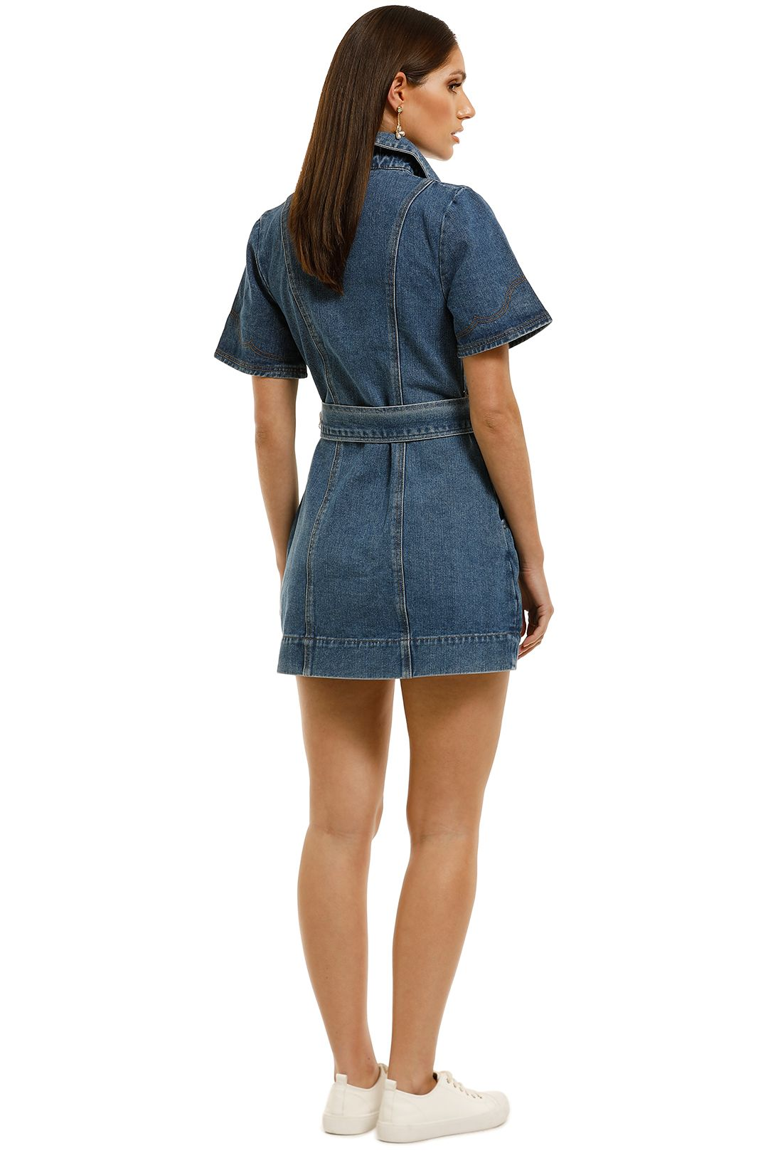 CMEO-Collective-Lifetime-Dress-Blue-Denim-Back
