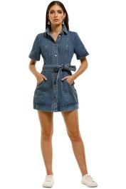 CMEO-Collective-Lifetime-Dress-Blue-Denim-Front