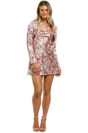 CMEO-Collective-Time-Flew-Dress-Cream-Garden-Floral-Front