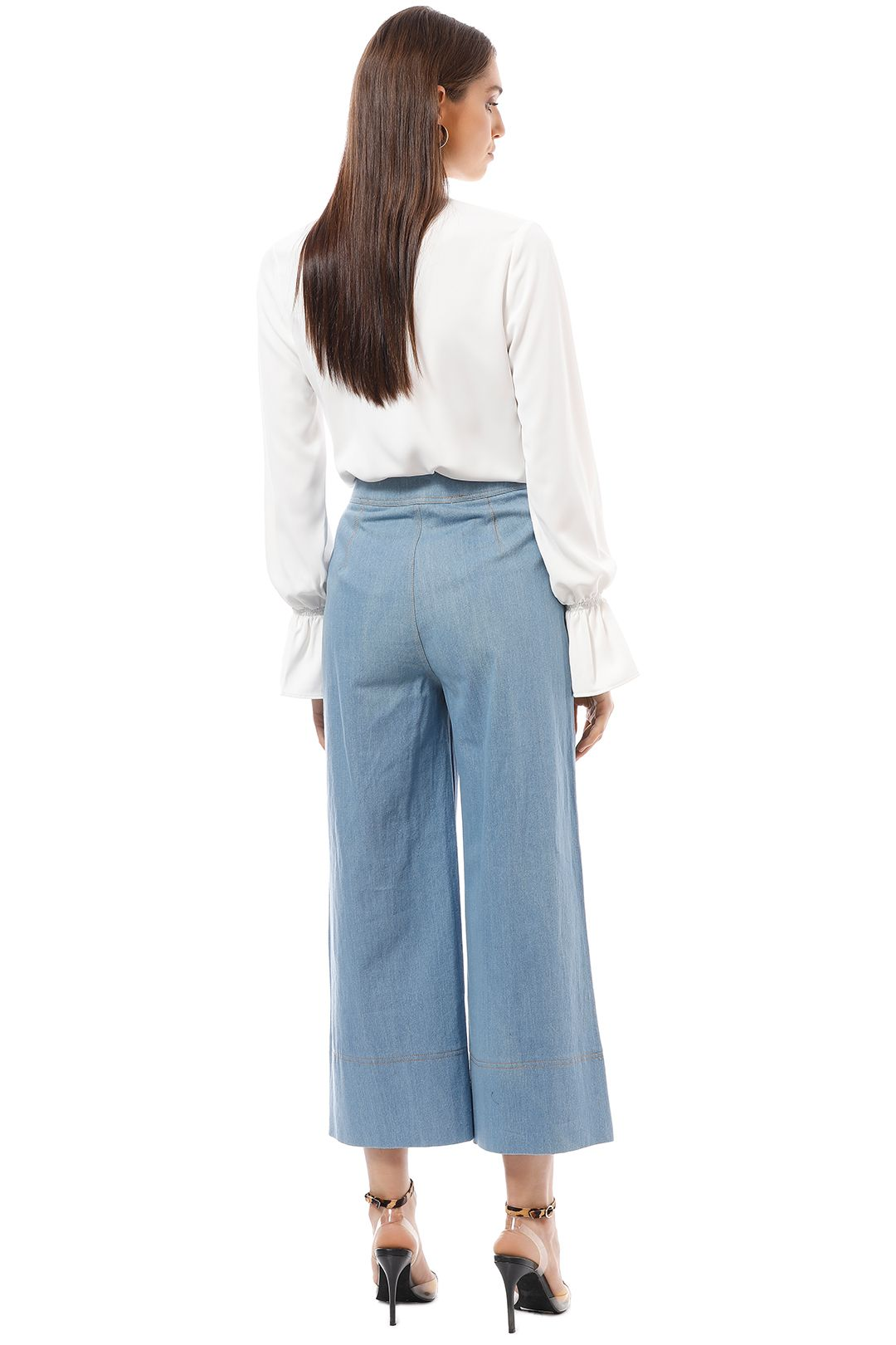 CMEO Collective - Adept Pants - Blue - Back