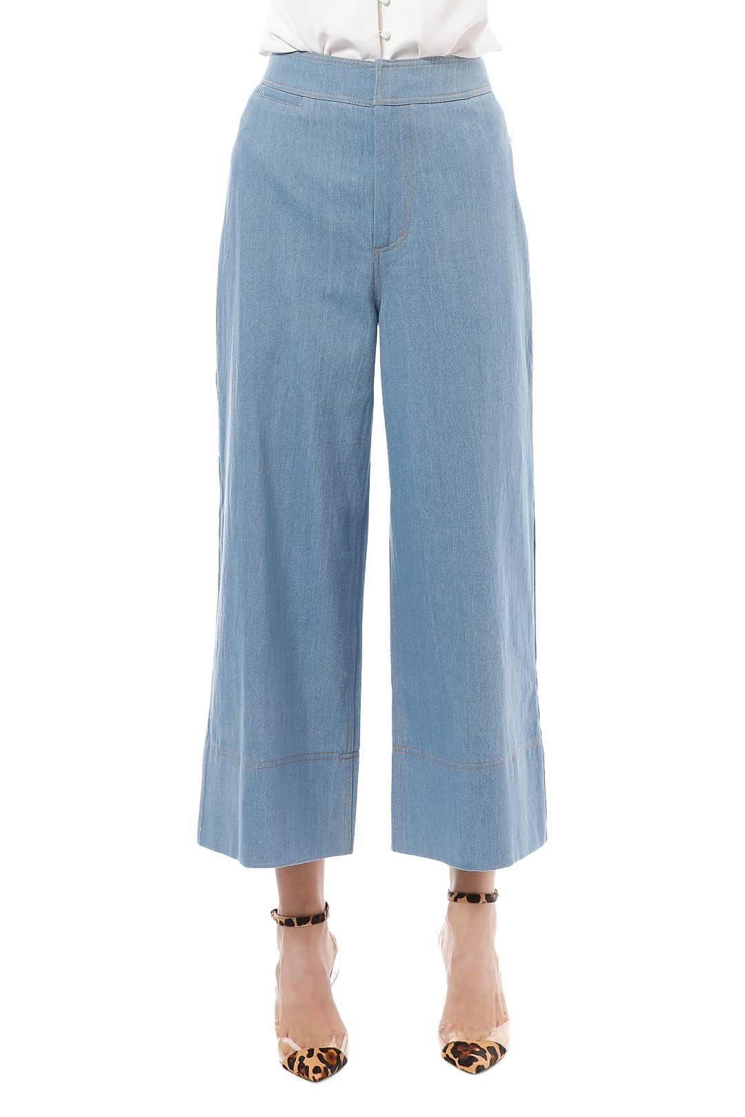 CMEO Collective - Adept Pants - Blue - Close Up