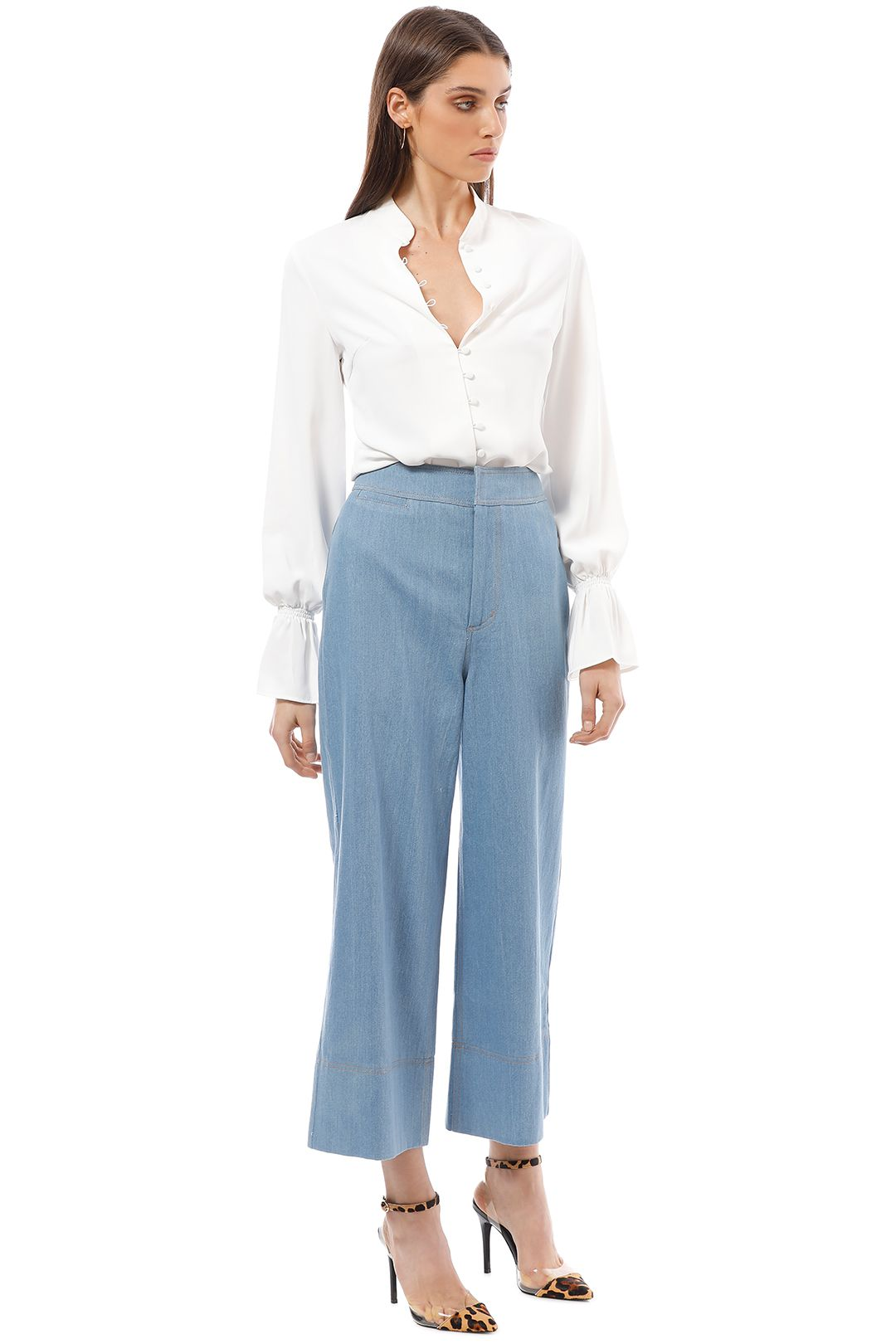 CMEO Collective - Adept Pants - Blue - Side